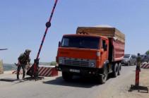 Российские миротворцы обеспечили безопасность движения более 2000 автомобилей по Лачинскому коридору в Нагорный Карабах в течение недели