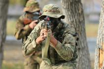 Azerbaijani forces fire on Armenian positions in Yeraskh section of Armenian-Azerbaijani border