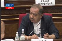 Агван Варданян посоветовал фракции «Гражданский договор» взять перерыв и проконсультироваться с тем, без кого они не могут принять решение
