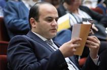 Նարեկ Մկրտչյանն ազատվել է աշխատանքի և սոցիալական հարցերի նախարարի առաջին տեղակալի պաշտոնից