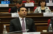Հայաստանում մենք թշնամիներ չունենք. ապագա կա. Ալեն Սիմոնյան