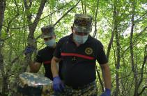 В районе Варанда (Физули) найдены останки четырех армянских военнослужащих