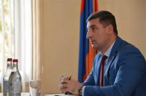 Гнел Саносян освобожден от должности губернатора Гегаркуникской области