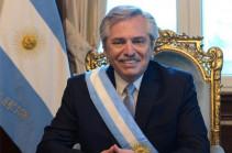 Արգենտինայի նախագահը շնորհավորել է Նիկոլ Փաշինյանին՝ վարչապետի պաշտոնում նշանակվելու կապակցությամբ