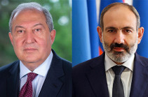 Armenia's president holds phone conversation with PM Pashinyan