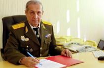 Степан Мелконян будет освобожден от должности заместителя директора СНБ