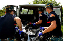 В районе Варанда найдены останки еще одного армянского военнослужащего