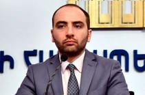 Ваан Унанян назначен пресс-секретарем МИД Армении