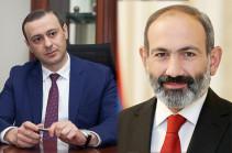 Армен Григорян отбыл в Иран вместе с Пашиняном, обязанности премьер-министра возложены на Мгера Григоряна