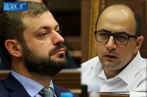 «А вы кем хотите стать? Человеком, который сдал 75% нашей родины, стал причиной 5000 жертв?» – Айк Мамиджанян ответил депутату правящей фракции, назвавшему его «маленьким Арменом Ашотяном»