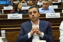 Opposition deputy Ishkhan Saghatelyan elected Armenia's parliament vice speaker