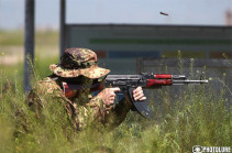 Azerbaijani forces open fire on Armenian positions in Black Lake section of the border