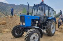 Viva-MTS. New agricultural equipment for the Artabuynq settlement