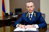 Заместитель военного прокурора Армении подал заявление об отставке
