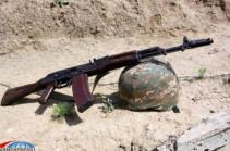 На одном из боевых постов погиб военнослужащий-резервист ВС Армении