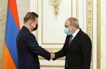 Никол Пашинян и Алексей Миллер обсудили перспективы развития армяно-российского сотрудничества в сфере энергетики