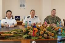 Начальник ГШ ВС Армении и новый военный атташе посольства США выразили готовность развивать армяно-американское военное сотрудничество