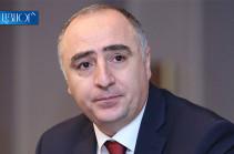 Сасун Хачатрян освобожден от должности начальника Специальной следственной службы