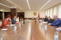 Глава Минобороны Армении обсудил с главой делегации МККК вопросы возвращения армянских пленных из Азербайджана
