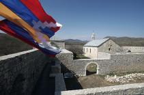Ամարասի վանքի վրա երեկվանից կրկին ծածանվում է Արցախի Հանրապետության պետական դրոշը. Մետաքսե Հակոբյան