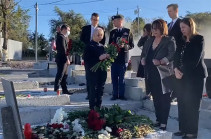 Եռաբլուր է այցելել ՀՀ-ում ԱՄՆ դեսպան Լին Թրեյսին