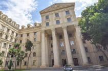 Баку призывает Ереван к нормализации отношений на основе признания территориальной целостности