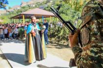 Զորամիավորումներում անցկացվել են միջոցառումներ ի հիշատակ Արցախի դեմ սանձազերծված 44-օրյա պատերազմի տարելիցի