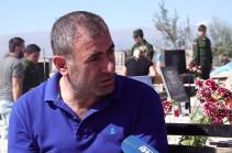 Հազարավոր տղաների կորցրինք, որ այսօր թուրքի հետ խաղաղ ապրե՞նք․ զոհված զինծառայողի հայր