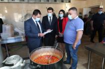 Փոխվարչապետ Սուրեն Պապիկյանն այցելել է «Նուբարաշեն» ՔԿՀ