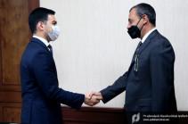Ռուստամ Բադասյանն ընդունել է Իտալիայի դեսպանին. քննարկվել են հարկային և մաքսային վարչարարության ոլորտում գործակցության հեռանկարները