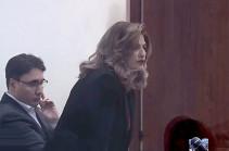Лусине Саакян будет защищать в суде интересы Армена Геворкяна