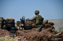 ВС Азербайджана стреляли в направлении села Кут: ранен армянский военнослужащий