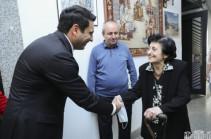 Ալեն Սիմոնյանն այցելել է Կարեն Դեմիրճյանի թանգարան