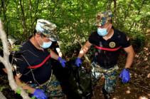 В районе Джракан обнаружены останки еще четырех армянских военнослужащих