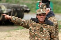 Бывший командующий Армией обороны назначен главным советником Араика Арутюняна