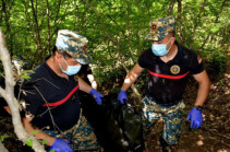 В районе Варанда обнаружены останки еще двух армянских военнослужащих