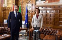 Հայաստանն ու Իտալիան խորացնում են արդարադատության ոլորտում համագործակցությունը․ Կարեն Անդրեասյանը հանդիպել է իտալացի գործընկերոջը