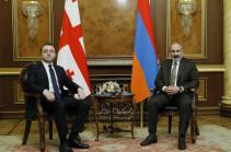 Նիկոլ Փաշինյանը և Իրակլի Ղարիբաշվիլին քննարկել են Հայաստան-Վրաստան համագործակցության օրակարգը և հեռանկարները