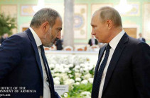 Пашинян 12 октября посетит с Москву, где встретится с Путиным