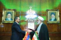 Генеральный прокурор Ирана прибудет завтра в Армению
