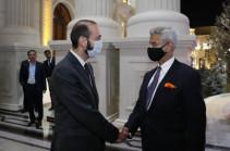 The Foreign Minister of India Subrahmanyam Jaishankar will arrive in Armenia