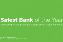 Global Finance Names Ameriabank the Safest Bank in Armenia