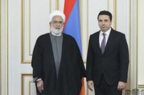 Ալեն Սիմոնյանի հետ հանդիպմանը Իրանի գլխավոր դատախազն ասել է, որ Թեհրանի համար իր և հարևանների անվտանգությունը շատ կարեւոր է