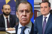 «ԼՂ հակամարտության կարգավորումը պետք է իրականացվի ԵԱՀԿ ՄԽ համանախագահության ձևաչափում՝   կողմերին հայտնի սկզբունքների ու տարրերի հիման վրա»․ կայացել է ՀՀ, ՌԴ և Ադրբեջանի ԱԳ նախարարների հանդիպումը
