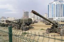 Ադրբեջանը հայտարարել է, որ Հայաստանի պահանջով «ռազմավարի պուրակից» հեռացրել է բոլոր մանեկեններն ու սաղավարտները
