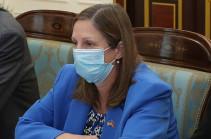Депутаты фракции «Честь имею» обсудили с Линн Трейси внутриполитическую ситуацию и вопросы безопасности