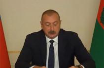 Алиев вновь заявил, что в Азербайджане нет армянских военнопленных