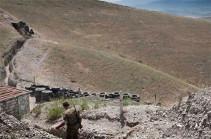 Փելա սար կոչվող տարածքում դիրքային փոփոխություն տեղի չի ունեցել, ՀՀ սահմանապահ զորքերը շարունակում են իրականացնել պետական սահմանի պահպանությունը նշված հատվածում. ԱԱԾ