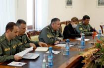 Начальник Генштаба ВС Армении принял делегацию МККК
