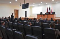 ՀՀ ՊՆ ռազմական ոստիկանությունում ամփոփվել են կատարված աշխատանքները